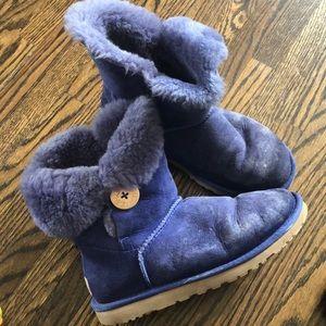 Purple ugh boots